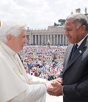 Pope and baini